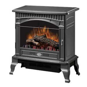 Dimplex DS5629GP Gloss Pewter Traditional Electric Stove