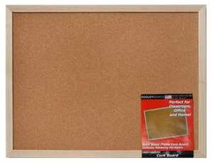 Dooleys 1824CO Wood Framed 17x23 in Cork Board