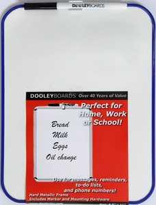 Dooleys 811MBVP Vinyl Framed 8.5x11 in Marker Board
