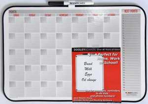Dooleys 1117CALV Vinyl Framed 11x17 in Calender Board