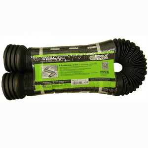 Hancor 330112 4 In X 12 Ft Perforated Bend-A-Drain