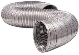 Dundas Jafine MFX68XZW Flexible Duct Aluminum 6x8 ft Bulk