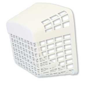Dundas Jafine PB50ZW Cover Vent Barricode Pest White