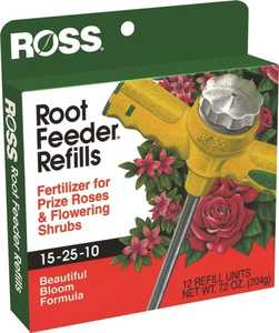 Easy Gardener 13450 Rose/Flowering Shrub Root Feeder Refills 12pk