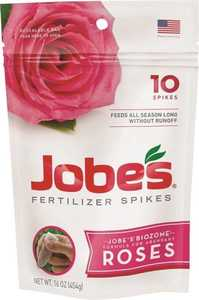 Easy Gardener 04102 Jobe's Rose Fertilizer Spikes 10pk