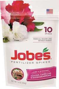 Easy Gardener 04101 Jobe's Azalea/Rhodadendon Fertilizer Spike 10pk