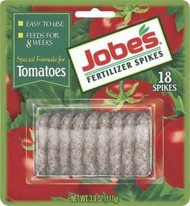 Easy Gardener 06000 Jobe's Tomato Fertilizer Spikes Blister Cardboard 18 Pack