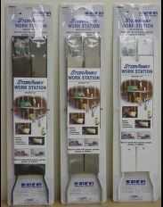EBCO PRODUCTS CORP FWB-WHT Workstation Bracket Storaway