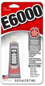 Eclectic Products 230516 E-6000 Craft Adhesive .50 oz
