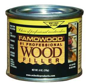 Eclectic Products 36041106 Famowood Wood Filler 1/4 Pt Birch