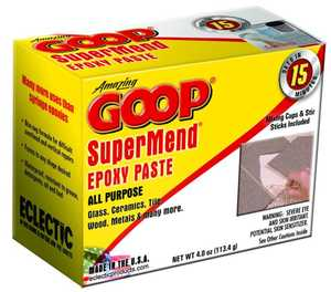 Eclectic Products 5330031 Amazing Goop Super Mend Epoxy 4 oz Kit