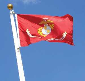 Eder Flag Co 070040 Flag Marine Corps 3 ft x5 ft