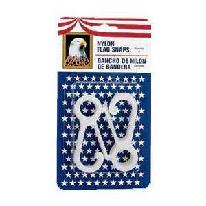 Eder Flag Co 89100 Nylon Flag Snaps 4pk