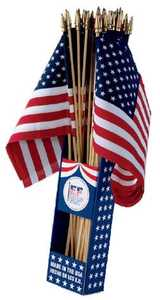 Eder Flag Co 89802 8x12 in Cotton United States Flag