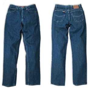 Ely & Walker 33 255350-75 34x32 Cattleman 5 Pocket Jean, Made In Usa