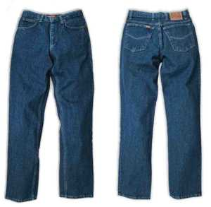 Ely & Walker 33 255350-75 38x30 Cattleman 5 Pocket Jean, Made In Usa