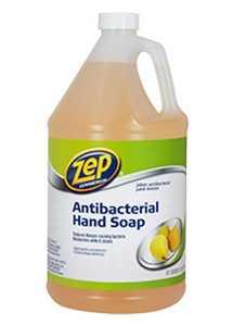 ZEP, INC/ENFORCER PRODS ZUAHP128 Zep Antibacterial Hand Soap Gallon