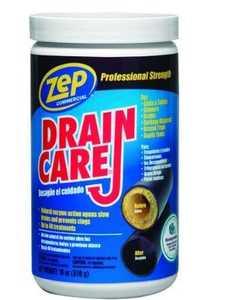 Zep Commercial ZDC16 Drain Care Buildup Remover 18 oz