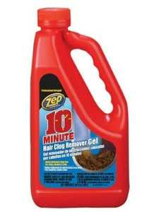Zep Commercial ZHCR64NG Hair Clog Remover 10min 64 oz