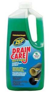 Zep Commercial ZLDC648 Liquid Drain Care Buildup Remover 64 oz