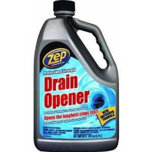 Zep Commercial U39524 128-Ounce Professional Strength Drain Opener