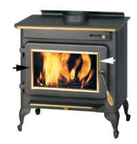 Englander Stove AC-108 Ac-108 Brass Accent Trim Ring