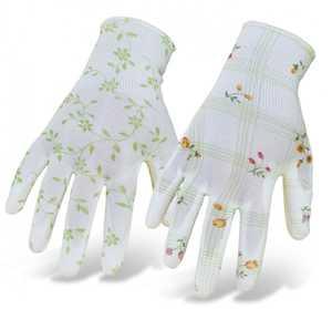 Boss Gloves 9600 Ladies' Light Floral Nylon Knit Gloves