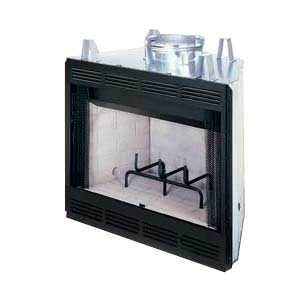 FMI Products CWC42C 42 In Wood Fireplace Louver/Liner