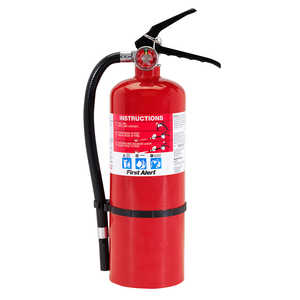 First Alert HOME2 Rechargeable Compliant Fire Extinguisher Ul Rated 2-A 10-B:c