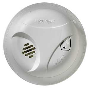 First Alert SA300CN3 General Smoke Alarm With Test Button