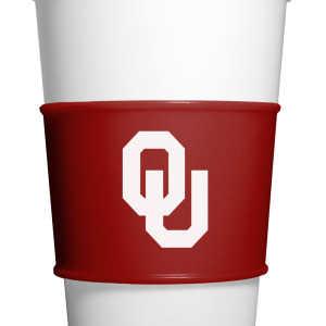 Fanpans OKC010 Oklahoma Sooners Gripz Coffee Sleeve