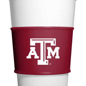 Fanpans TAM010 Texas A&m Gripz Coffee Sleeve
