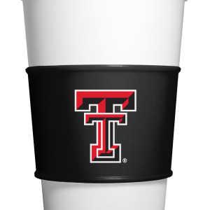 Fanpans TT010 Texas Tech Gripz Coffee Sleeve