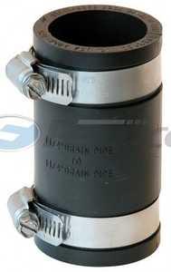 Fernco P1056-125 Coupling 1.25 Cast/Plastic/Copper To Same