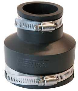 Fernco P1056-315 Coupling 3x1.5 Cast/Plastic/Copper To Same