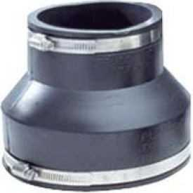 Fernco P1056-415 Coupling4x11/2 Cast/Plastic/Copper To Same