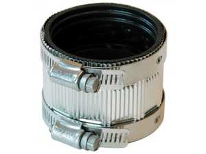 Fernco PNH-22 Coupling No Hub 2 in Stainless Steel Shield