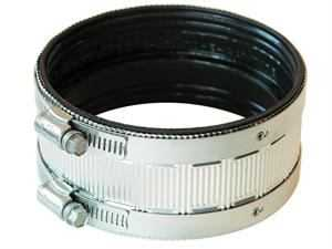 Fernco PNH-44 Coupling No Hub 4 in Stainless Steel Shield