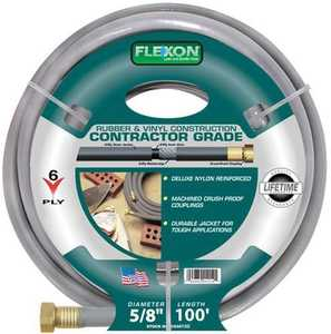 Flexon CG58100 Contractor Hose 5/8x100 6ply 10yr