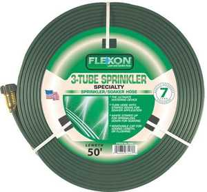Flexon FS50 3-Tube Sprinkler Hose 50 ft