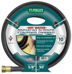 Flexon PH5850 Hot Water Hose 5/8x50 10yr