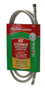 Fluidmaster 12IM60 Connector Ice Maker 60 in 1/4 in
