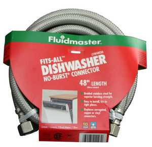 Fluidmaster 1W48CU Dishwasher Connector Fit 48 in