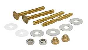 Fluidmaster 7114 Toilet Bowl Bolts/Screws Kit