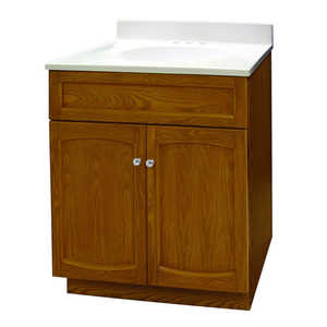 Foremost Groups HEO2418 24x18 Vanity And Top Combo Oak