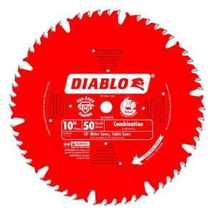 FREUD D1050X 10 in 50 Tooth Diablo Combination Saw Blade