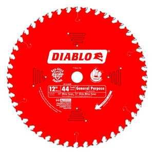 FREUD D1244X 12 in 44 Tooth Diablo General Purpose Saw Blade