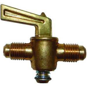 JMF Company 1921508089813 1/2 FLARE X 1/2 FLARE GROUND PLUG VALVE