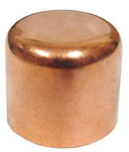 JMF Company 2515408989802 Copper Sweat Cap 1/2 in
