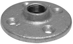 JMF Company 3714124989882 Floor Flange 11/2 Gal vanized